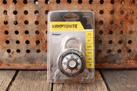 Kryptonite -Kryptonite Gripper Dial Padlock -TOOLS + LOCKS + LIGHTS + PUMPS -Anchor BMX