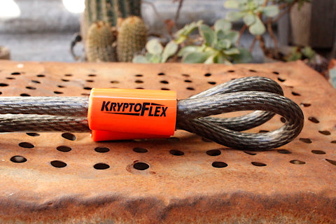 Kryptonite -Kryptonite Kryptoflex Double Loop Cable -TOOLS + LOCKS + LIGHTS + PUMPS -Anchor BMX