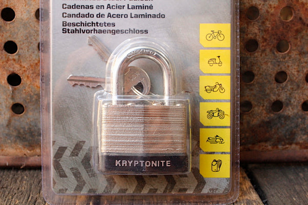 Kryptonite -Kryptonite Laminated Steel Padlock 44mm -TOOLS + LOCKS + LIGHTS + PUMPS -Anchor BMX