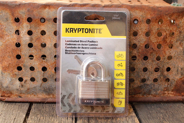 Kryptonite Laminated Steel Padlock 44mm - Anchor BMX
