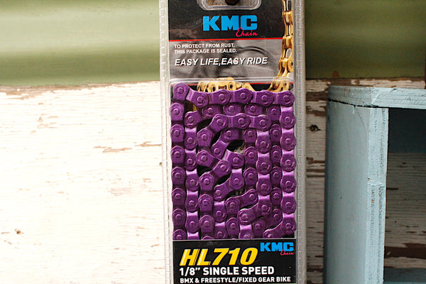 Kmc HL710H Half Link Chain purple