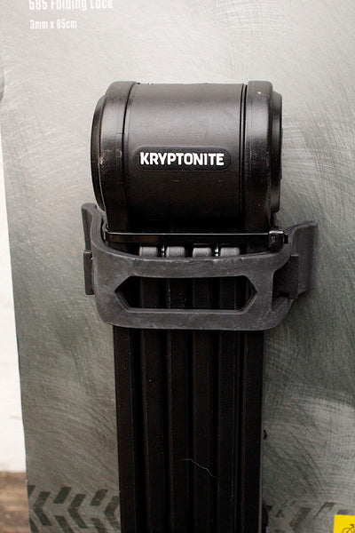 Kryptonite -Kryptonite Keep 585 Folding Lock -TOOLS + LOCKS + LIGHTS + PUMPS -Anchor BMX