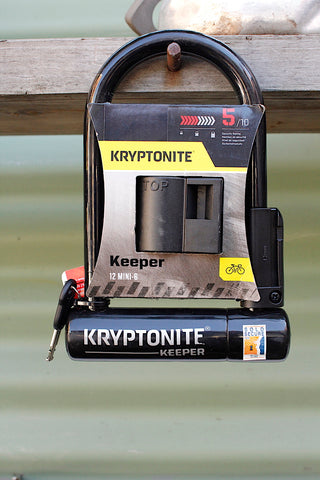Kryptonite -Kryptonite Keeper Mini 6 U-Lock -TOOLS + LOCKS + LIGHTS + PUMPS -Anchor BMX