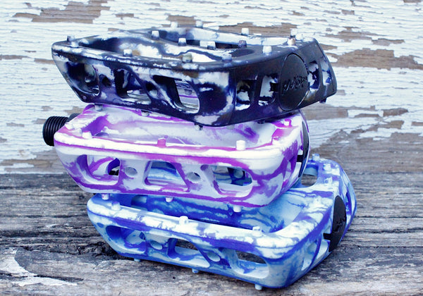 ODYSSEY -Odyssey Twisted Pc Pedals Tie Dye -Pedal -Anchor BMX