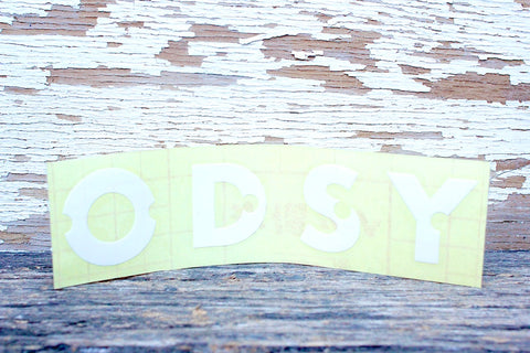 ODYSSEY -Odyssey Litehouse Rim Sticker -Magazines + stickers+patches -Anchor BMX