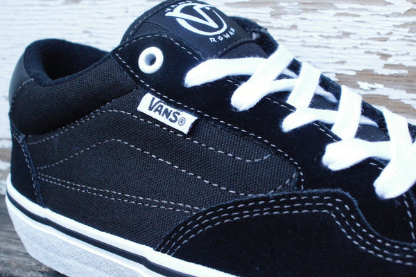 VANS -Vans Rowan Pro Black/White -Shoes -Anchor BMX