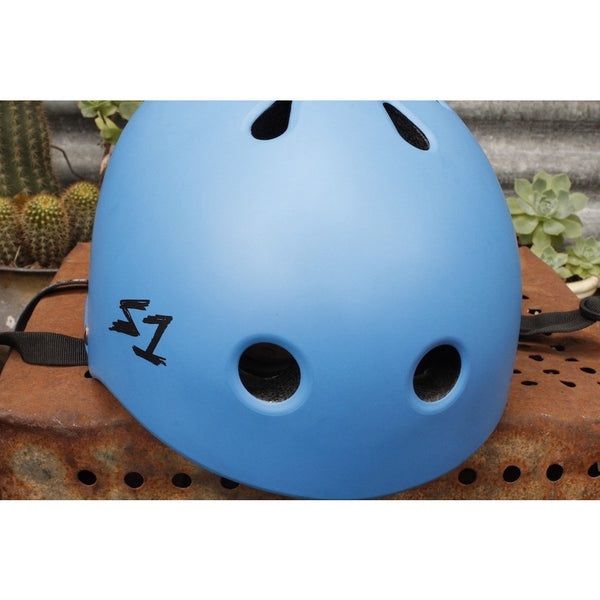 S1 HELMETS MATTE BLUE LIFER / BIKE HELMETS