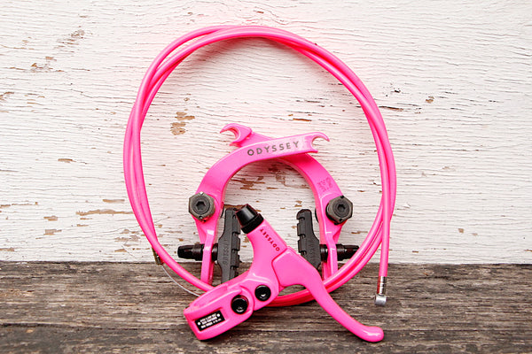 Odyssey Evo 2.5 Brake Kit Hot Pink