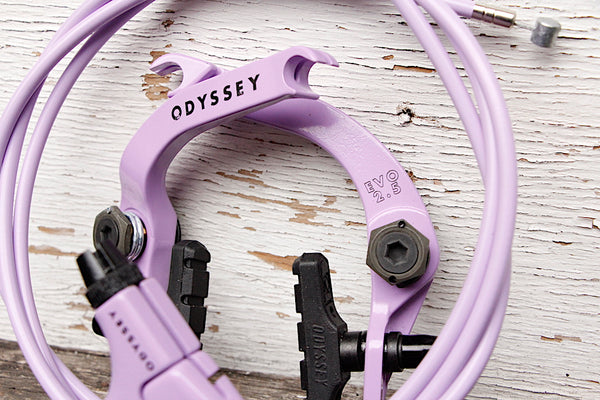 Odyssey Evo 2.5 Brake Kit Purple