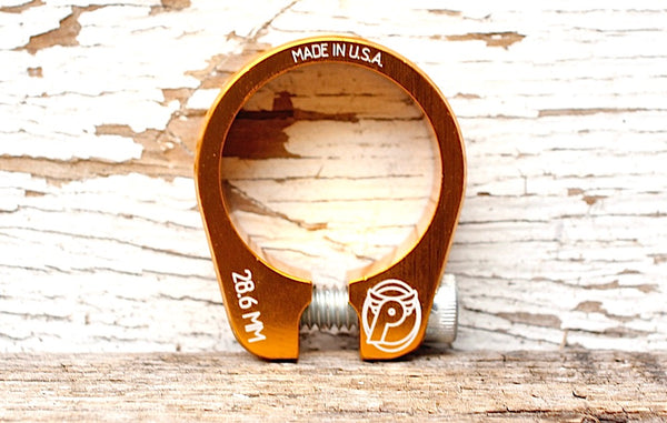 PROFILE SLIM JIM BMX SEAT POST CLAMP - GOLD