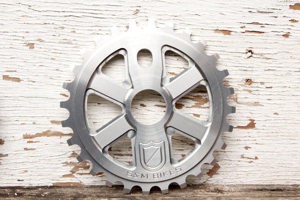 S&M X-Man Sprocket clear
