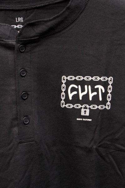 Cult Throw Away Key Long sleeve Tee - Anchor BMX