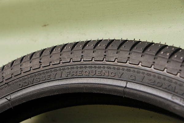ODYSSEY -Odyssey Frequency G Tyre -TYRES + TUBES -Anchor BMX