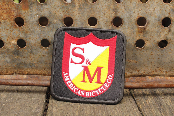 S&M Bikes Shield Patch Square - Anchor BMX