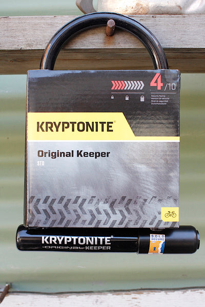Kryptonite Original Keeper U-Lock - Anchor BMX