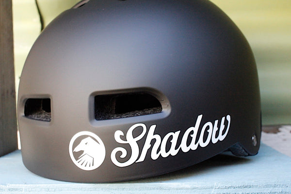 THE SHADOW CONSPIRACY -TSC Classic Helmet Matte Blk -HELMETS + PADS + GLOVES -Anchor BMX