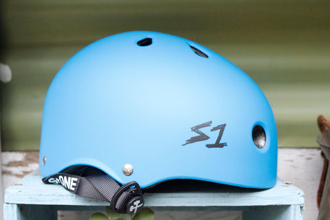 S1 Lifer Helmet Certified Matte Blue - Anchor BMX