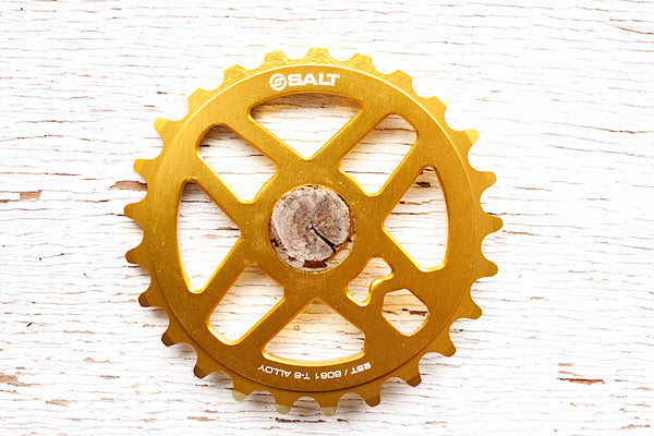 Salt Pro Sprocket gold