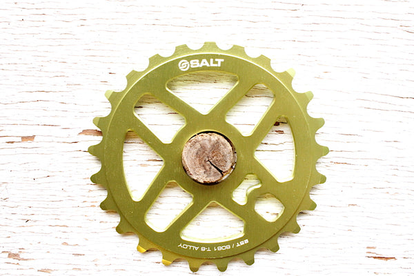 Salt Pro Sprocket green