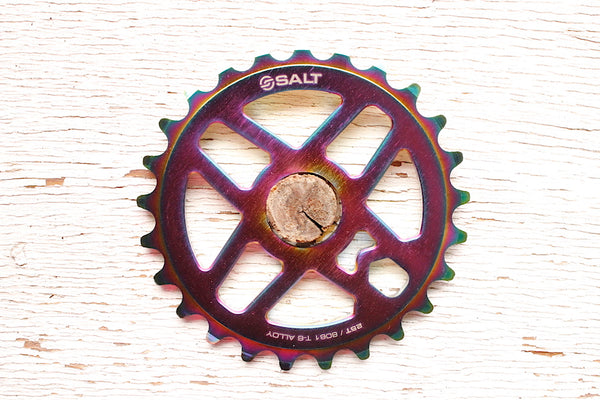 Salt Pro Sprocket oil slick