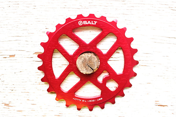 Salt Pro Sprocket red