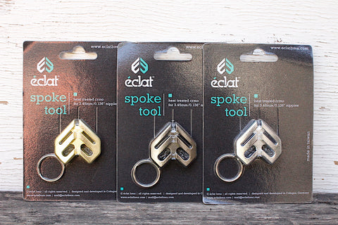 ECLAT -Eclat Spoke Tool Keychain -TOOLS + LOCKS + LIGHTS + PUMPS -Anchor BMX