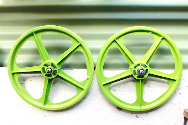 SKYWAY TUFFS GREEN - MAG WHEELS