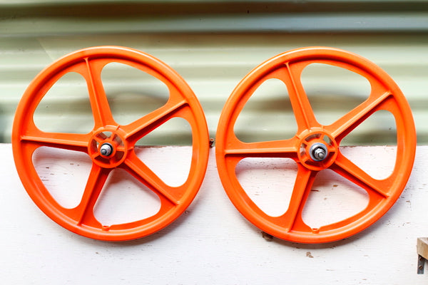 SKYWAY TUFFS ORANGE - MAG WHEELS