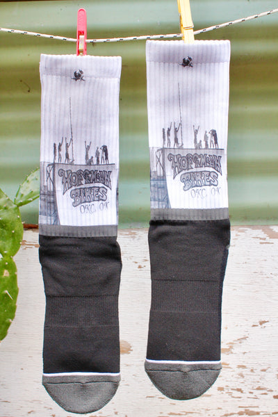 HOFFMAN BIKES -Hoffman Bikes Big Air Socks -Socks -Anchor BMX