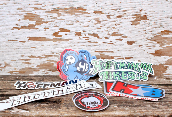 HOFFMAN BIKES -Hoffman Bikes Sticker Pack -Magazines + stickers+patches -Anchor BMX