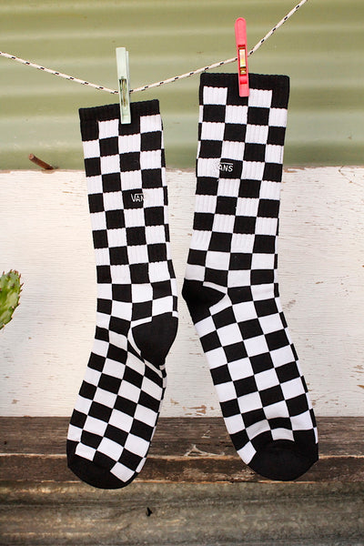 Vans Checkerboard Crew ll Socks