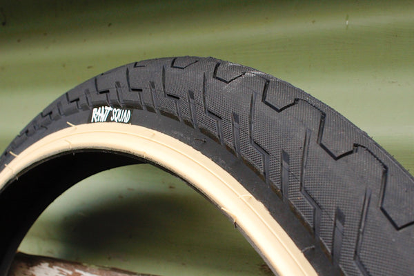 RANT -Rant Squad Tyre Tan Line -TYRES + TUBES -Anchor BMX