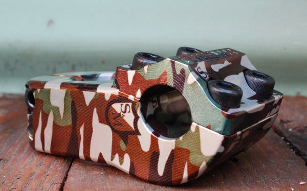 S&M Challenger Stem Camo Shield Wrap