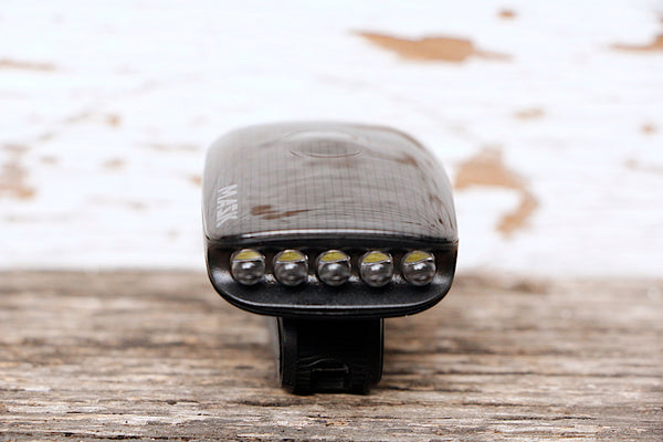 Moon Mask 5 Led Front Bike Light