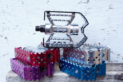 ODYSSEY -Odyssey Triple Trap  Pedals -Pedal -Anchor BMX