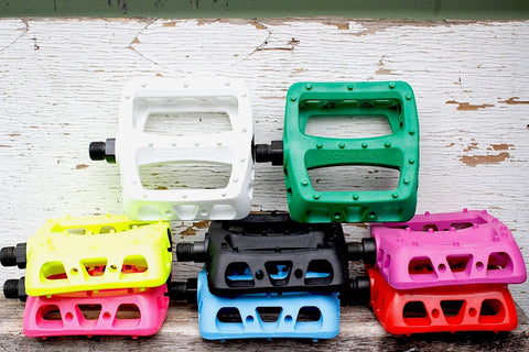 ODYSSEY TWISTED PC BMX PEDALS - GREAT COLOURS