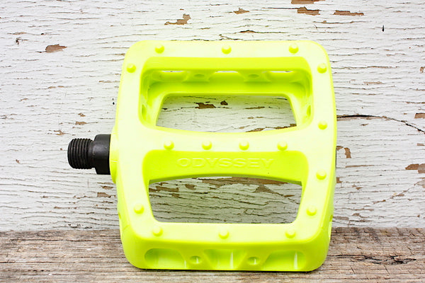 ODYSSEY TWISTED PC PEDALS FLURO YELLOW