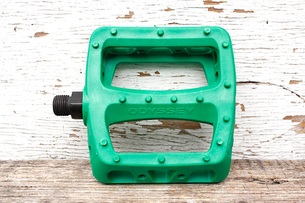 ODYSSEY TWISTED PC PEDALS GREEN