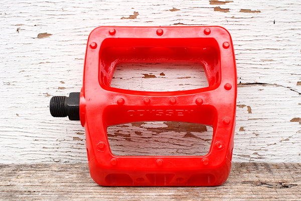 ODYSSEY TWISTED PC PEDALS  RED