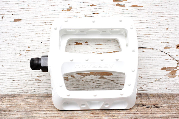 ODYSSEY TWISTED PC PEDALS  WHITE