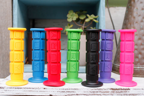 OURY DOWNHILL BIKE GRIPS - COLOURS