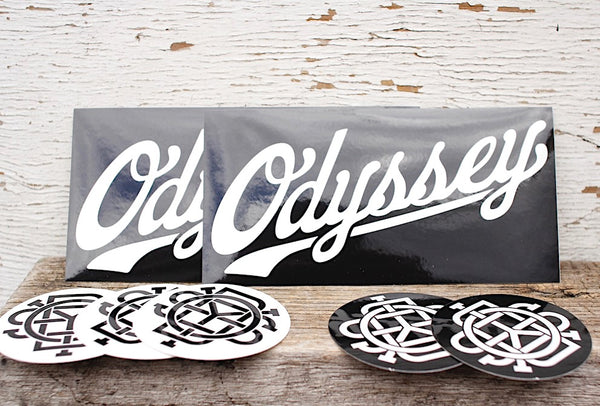 ODYSSEY -Odyssey Sticker 7 Pack -Magazines + stickers+patches -Anchor BMX