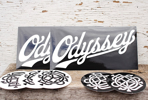 Odyssey 30Th Sticker Pack