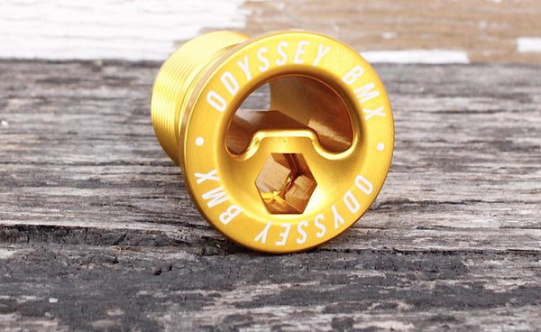 Odyssey Pre‑Load Bolt Gold - Anchor BMX