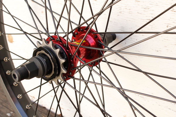 Odyssey + Sun Custom Rear Wheel Multi Driver LHD
