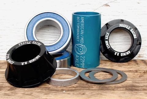 Profile -Profile 22mm Mid BB -Headsets and bottom brackets -Anchor BMX