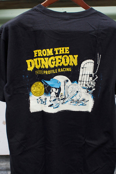 "PROFILE RACING ""FROM THE DUNGEON"" LOGO TEE"