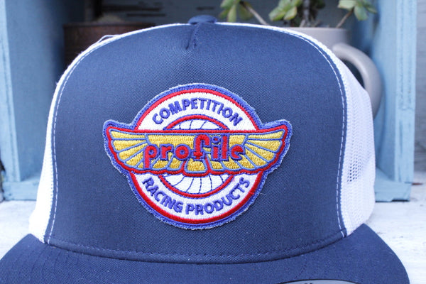 Profile Vintage Logo Mesh Trucker Hat - Anchor BMX