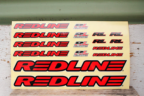 Redline Frame Decal Set