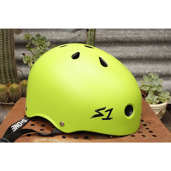 S1 Lifer Helmet Matte Green